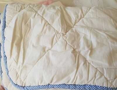 Cot Size Wool Quilt insert