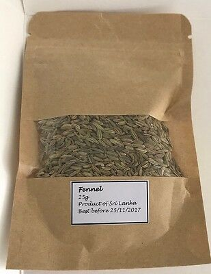 Fennel Seeds 25g