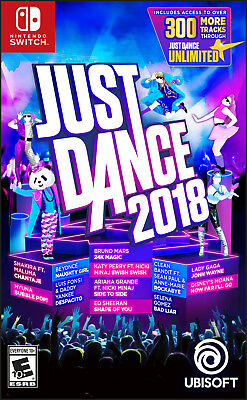 Just Dance Nintendo Switch 2018 Game