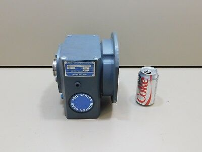 NEW Boston Worm Gear Speed Reducer S726V-5-J, 5:1 Ratio 5.75 Input HP 900 lb in.