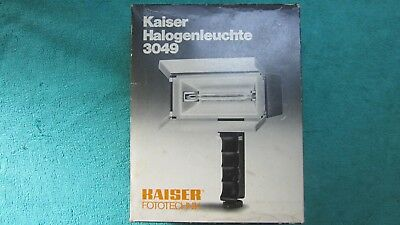 "Kaiser ""halogenleuchte"" 3049 Electronic Flood Lamp  (Tested)"