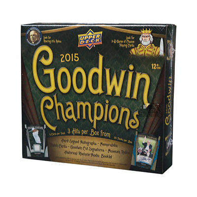 2015 Upper Deck Goodwin Champions Hobby Box