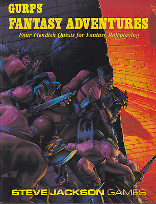 GURPS: Fantasy Adventures. Four Fiendish Quests for Fantasy Roleplaying