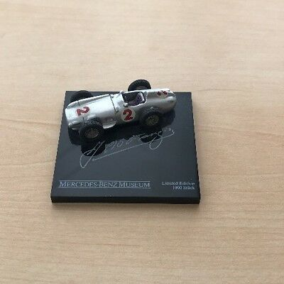 Modell Mercedes Benz Limited Edition Juan Manuel Fangio 1:87 Limited Edition Box