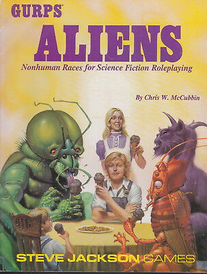 GURPS: Aliens - Nonhuman Races for Science Fiction Roleplaying