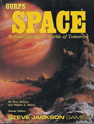 GURPS: Space - Roleplaying in the Worlds of Tomorrow