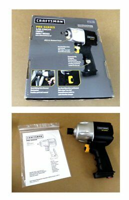 "New Craftsman Pro Series 1/2"" Drive Air Impact Wrench 875.51115 No Reserve"