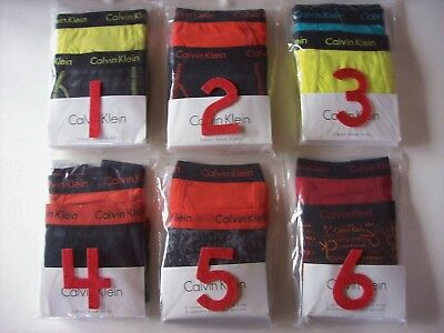 Calvin Klein Underwear Underpants Boys 2 Boxer Briefs S M L XL New