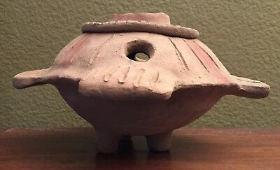 "Unique  Pre-columbian Clay Vessel ""UFO"", lake Cuitzeo, Mexico, c. 4-6 BC"