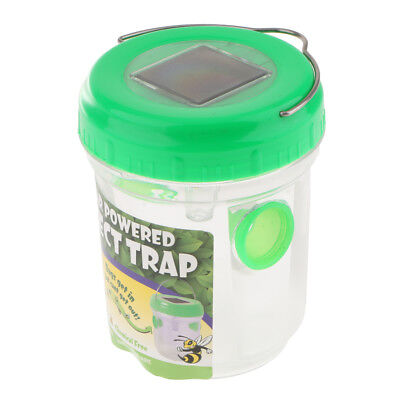 Solar Mosquito Insect Trap LED Light Insect Zapper Bugs Insect Fly Killer