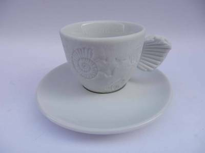 ILLY COLLECTION 1997 FOSSILE Paolo Rossetti tazzina espresso cup