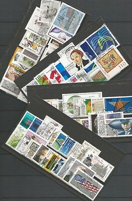 Germany 1983 - 1999 - Small Collections of 20 Used German Stamps