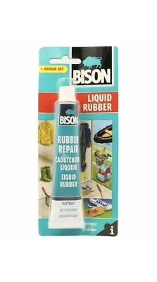Bison Liquid Rubber Best Plastic and Rubber Glue Bison Clear Adhesive 50ml