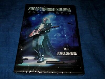 Supercharged Soloing Made Easy-Claude Johnson-Guitar Instruction Dvd Brand New