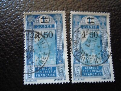 GUINEA - stamp yvert/tellier n° 103 x2 cancelled (A18)