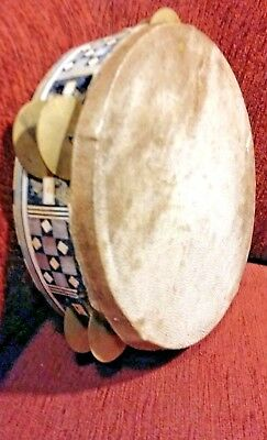 Antiq Middle East An ancient tambourine handmade by Demeshikai from animal skins