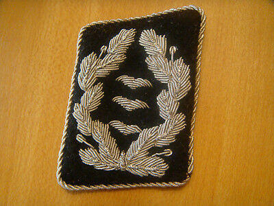 Wwii German Officer  Black Collar Tab  Acquired 42 Years Ago From Vet.