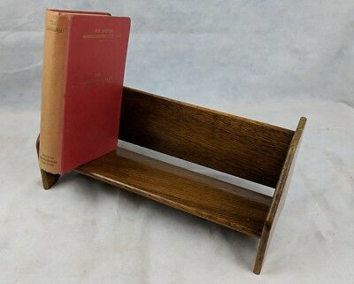 Vintage 1940/50S Plywood Book Rest, Designed & Made By Veterans Of Ww2