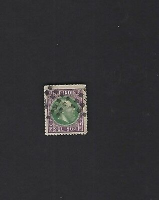 NETHERLANDS INDIES sc#16b (1870) USED