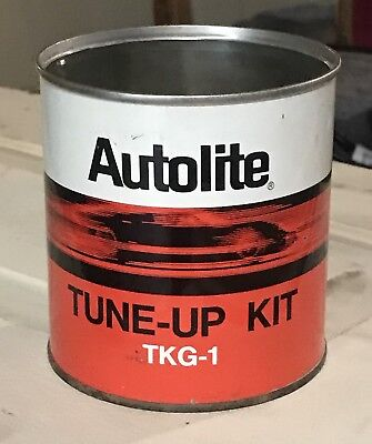 Vintage Ford Motorcraft Tune-up In A Can,TKG-1,V-8,Dealer,empty Can