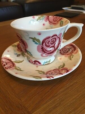 Emma bridgewater Rose and Bee Cup and Saucer