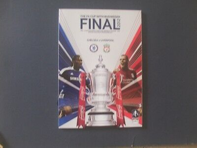 2012 FA CUP FINAL PROGRAMME CHELSEA v LIVERPOOL