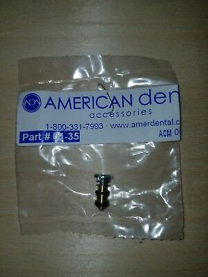 American Dental Syringe Button Dci/Adec Style P/N 01-35