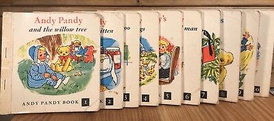 Series of 1-10 Andy Pandy Books