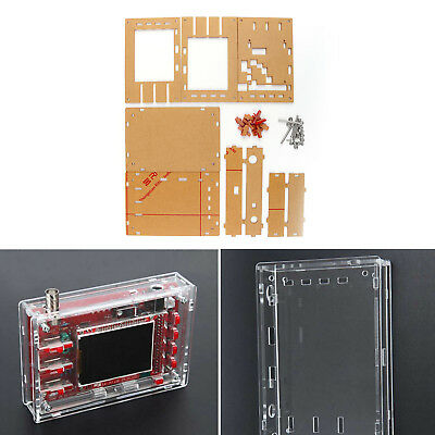 """Clear Acrylic Case Shell Housing For DSO138 2.4"""" TFT Digital Oscilloscope UE"""