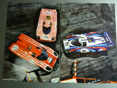 1970 / 1971 Porsche 917 Coupe Showroom Advertising Poster RARE!! Awesome L@@K