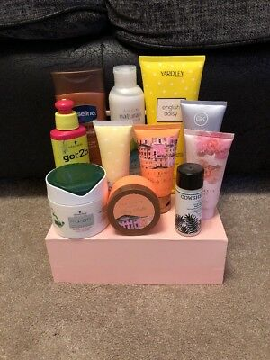 Mixed beauty items/cosmetics bundle Brand new Ted Baker, Cowshed, Schwarzkopf