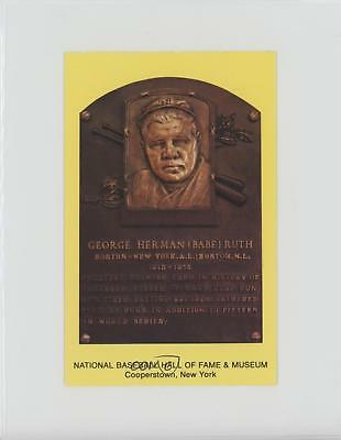 1981 1981-97 National Baseball Hall of Fame and Museum Postcards Babe Ruth Card
