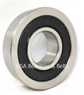 "FR8RS, FR8-2RS Sealed Flanged Bearing 1/2"" x 1-1/8"""