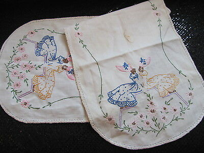 Vintage Runner Dresser Scarf - Country Southern Belles- Cutter - Sewing Project