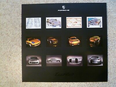 2000 Porsche 911 996 Coupe Showroom Advertising Sales Poster RARE!! Awesome L@@K