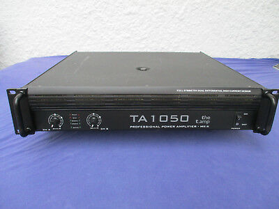the t. amp TA1050 Endstufe