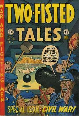 Two-Fisted Tales (1950 series) #31 in Good minus condition. E.C. comics