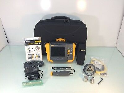 NEW Fluke 810 Vibration Tester w/ Case, Tachometer & Accelerometer - TESTED
