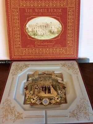 2007 THE WHITE HOUSE HISTORICAL ASSOCIATION Christmas Ornament Grover Cleveland