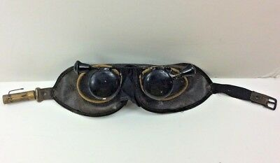 PR. Vintage Odd Fellows Blinders/Goggles Steampunk Madmax Flip-up Covers