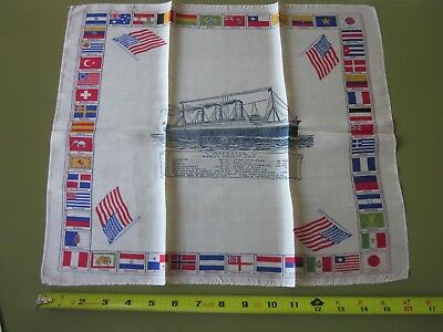 Very Rare Silk Scarf from the Imperator in Excellent Condition