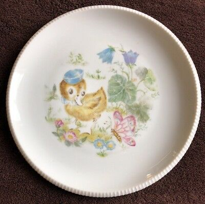 Made in Denmark Duckling And Butterfly Childs Plate