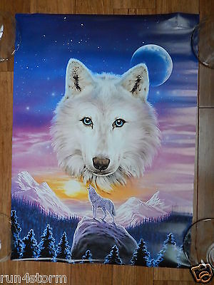 """1996 She Wolf John Meikle 16 ½"""" x 22 ¾"""" Poster"""