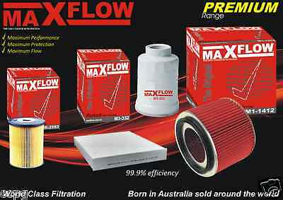Maxflow® Replacement > Nissan Patrol GU IV TD Air Fuel Oil Filter Service Kit