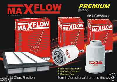 Maxflow® Replacement > Mitsubishi Pajero TD NT 3.2 4M41 Air Fuel Oil Filter Kit