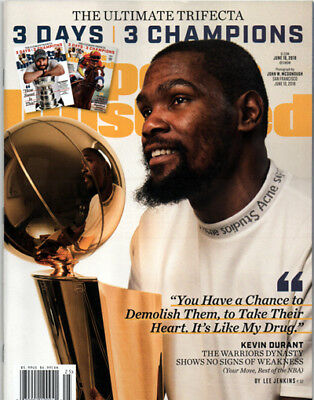 Kevin Durant - Golden State Warriors - NBA Champions -  Sports Illustrated 2018