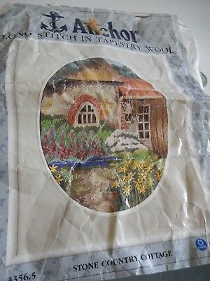 Semco Tapestry Lap Frame & 3  Tapestry unfinished pieces