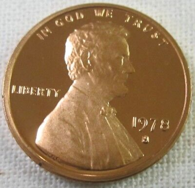 1978 S Proof Lincoln Memorial Cent/Penny (1038)