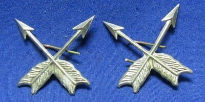 WWI REPRODUCTION Army Indian Scout Insignia Set GREAT SHAPE