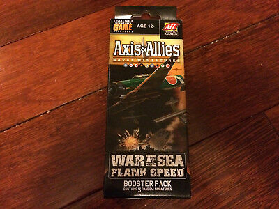 Axis & Allies War At Sea Flank Speed Booster Pack (2009)